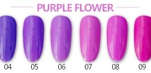 Roniki Purple Flower